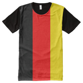 Colors of the German Flag All-Over Print Shirt