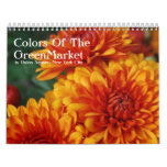 Colors Of The GreenMarket Wall Calendar