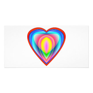 Colors Of The Heart Card