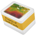 Colors of the Maple Leaf Autumn Nature Photography Drink Cooler