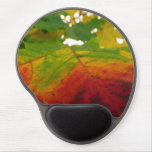 Colors of the Maple Leaf Autumn Nature Photography Gel Mouse Pad