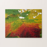 Colors of the Maple Leaf Autumn Nature Photography Jigsaw Puzzle