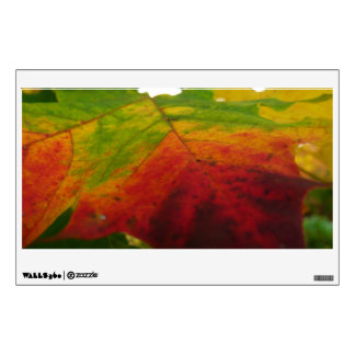 Colors of the Maple Leaf Autumn Nature Photography Wall Decal