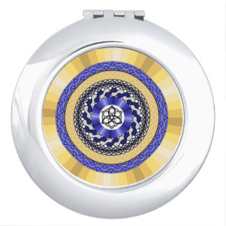 Colors of the New Year Compact Mirror