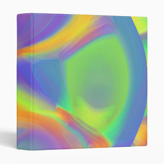 Colors of the Rainbow 3 Ring Binder