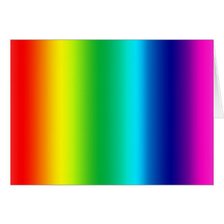 Colors of the Rainbow Card