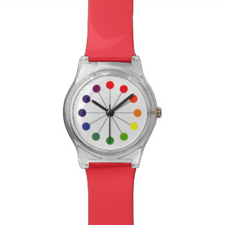 Colors of the rainbow - dots watch