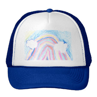 Colors Of The Rainbow Trucker Hat