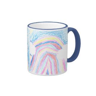 Colors Of The Rainbow Ringer Coffee Mug