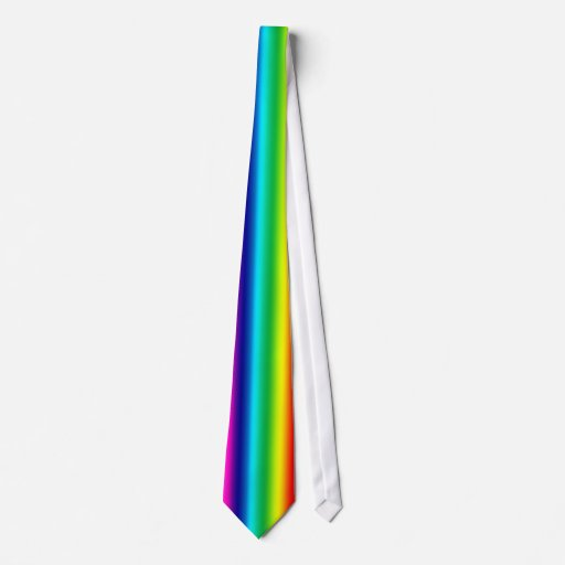 Colors of the Rainbow Tie