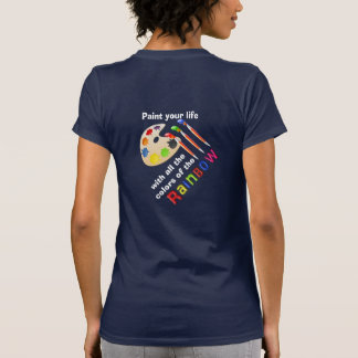 Colors of the Rainbow - women's t-shirt