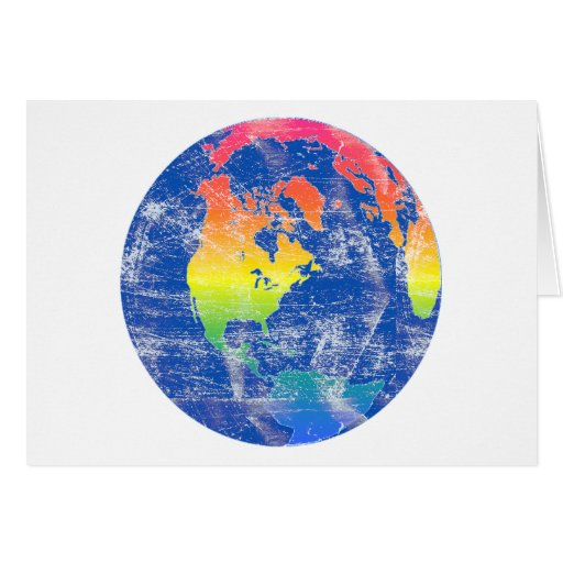 Colors of the World Card