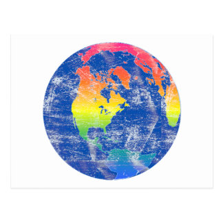 Colors of the World Postcard