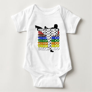 Colors Of TKD Baby Bodysuit