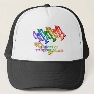 Colors of TRUMPET music Trucker Hat