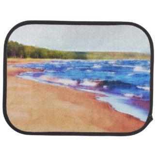 Colors of Water Car Floor Mat
