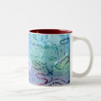 Colors of Water, fine art mug