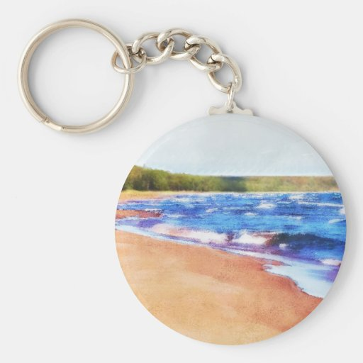 Colors of Water Key Chain