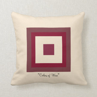 Colors of Wine Pillow