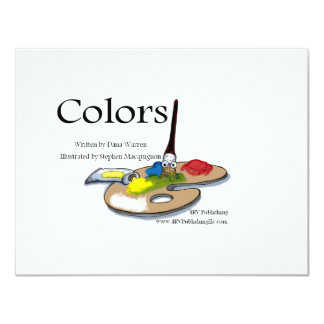 Colors one personalized announcements