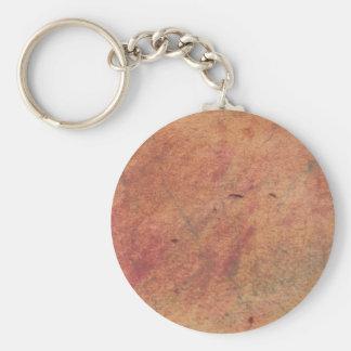 Colors Parchment Basic Round Button Keychain