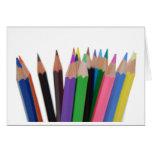 colors pencils cards