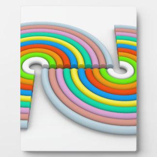 Colors Plaque