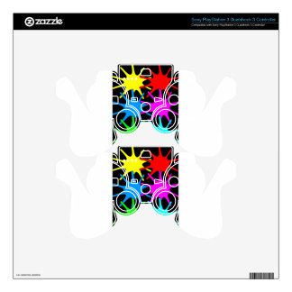 colors PS3 controller skins