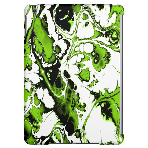 Colors Rausch, Green Case For iPad Air