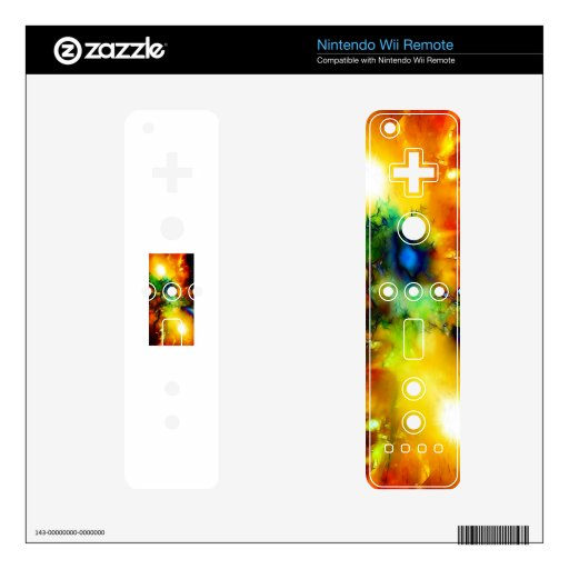 COLORS WII REMOTE DECAL
