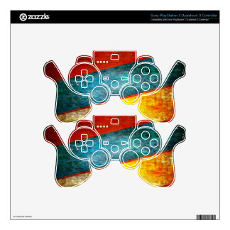 colors skin for PS3 controller