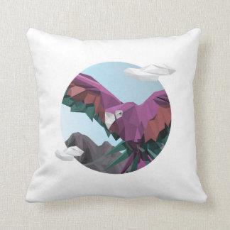 Colors speak throw pillow