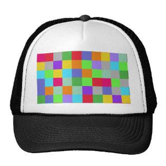 Colors Squares Trucker Hat
