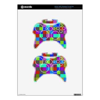 Colors Squares Xbox 360 Controller Decal