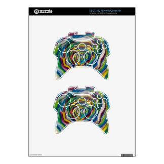 Colors Wheel Xbox 360 Controller Decal