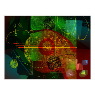 """""""Colorscope VI"""" Print"""