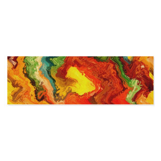 colorsplash wave Double-Sided mini business cards (Pack of 20)