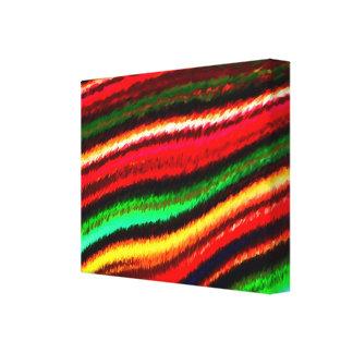 ColorStratus estiró la pintura de Digitaces de la Lona Envuelta Para Galerias