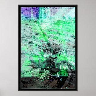 colorswars Green Print