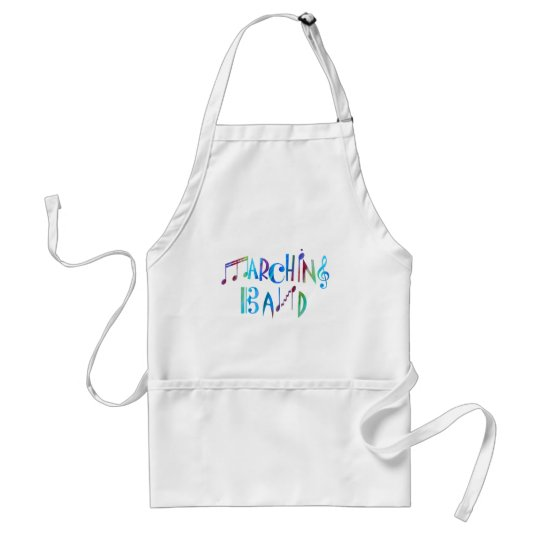 Colorwashed Marching Band Adult Apron