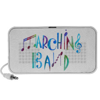 Colorwashed Marching Band iPhone Speakers