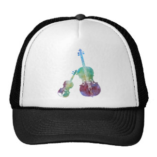 Colorwashed Violin and Cello Trucker Hat