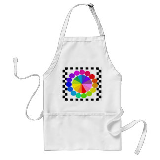 Colorwheel Apron Teaching Art Party Workshop 10 Standard Apron