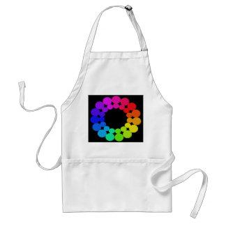 Colorwheel Apron Teaching Art Party Workshop 7 Standard Apron