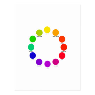 colorwheel postcard