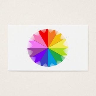 Colorwheel Rainbow Gifts Business Card