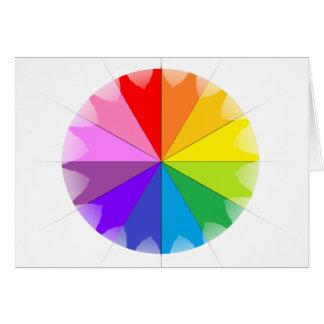Colorwheel Rainbow Gifts Card
