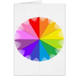 Colorwheel Rainbow Gifts Cards