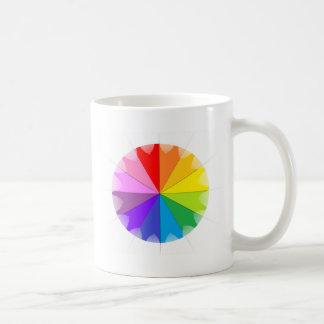 Colorwheel Rainbow Gifts Coffee Mugs