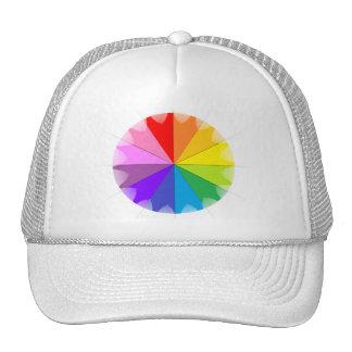 Colorwheel Rainbow Gifts Trucker Hat